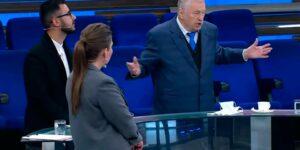 На канале «Россия 1» Жириновский заявил, что Тихановскую надо выкрасть и наказать прилюдно в центре Минска в назидание другим