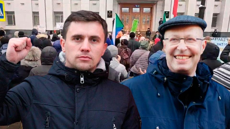 Валерий Соловей и Николай Бондаренко