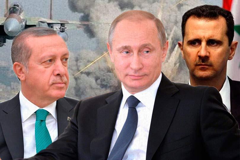 Эрдоган, Асад и Путин