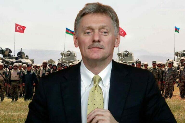 В Карабахе ничего не закончилось, Турция отправляет военных в Азербайджан, Песков не видит в этом ничего страшного