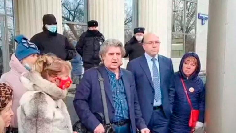 Сегодня в Мосгорсуде состоялось рассмотрение иска Платошкина на изменение меры пресечения