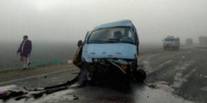 На Кубани произошло столкновение «Газели» и «КамАЗа», пять человек погибли