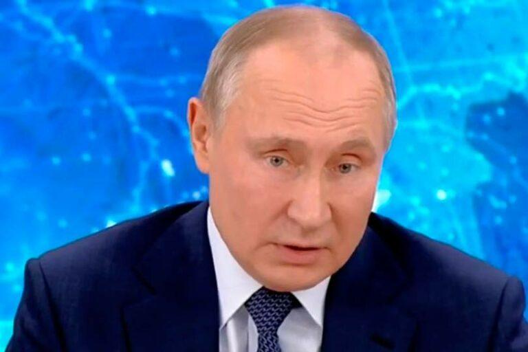 Пресс-конференция президента Путина показала при яркости формы блеклость содержания