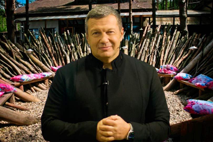 >Владимир Соловьев на лобном месте