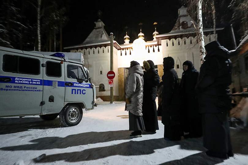 Спецназ задержал схиигумена Сергия отлученного от церкви