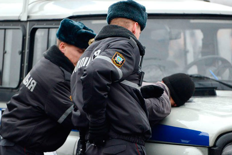 Милиция в Беларуси