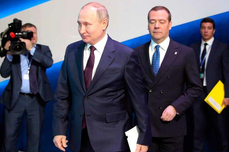 Пожизненная неприкосновенность Медведеву и Путину нужна для того, что США не собираются гарантировать им безопасность