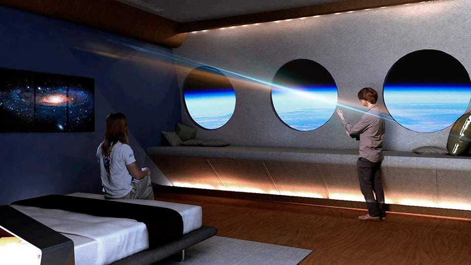 Космический отель на орбите Земли