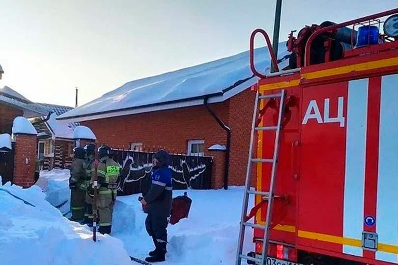 Пожар в Татарстане