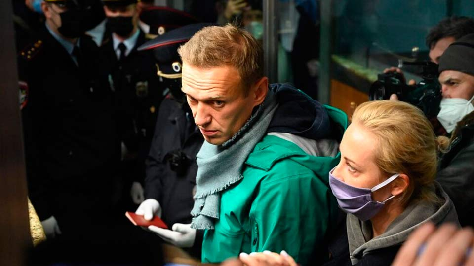 Навальный арест