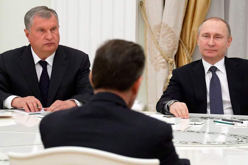 Путин, Сечин и другие