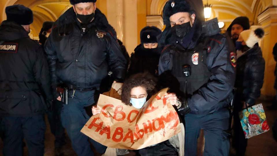 Митинги в защиту Навального