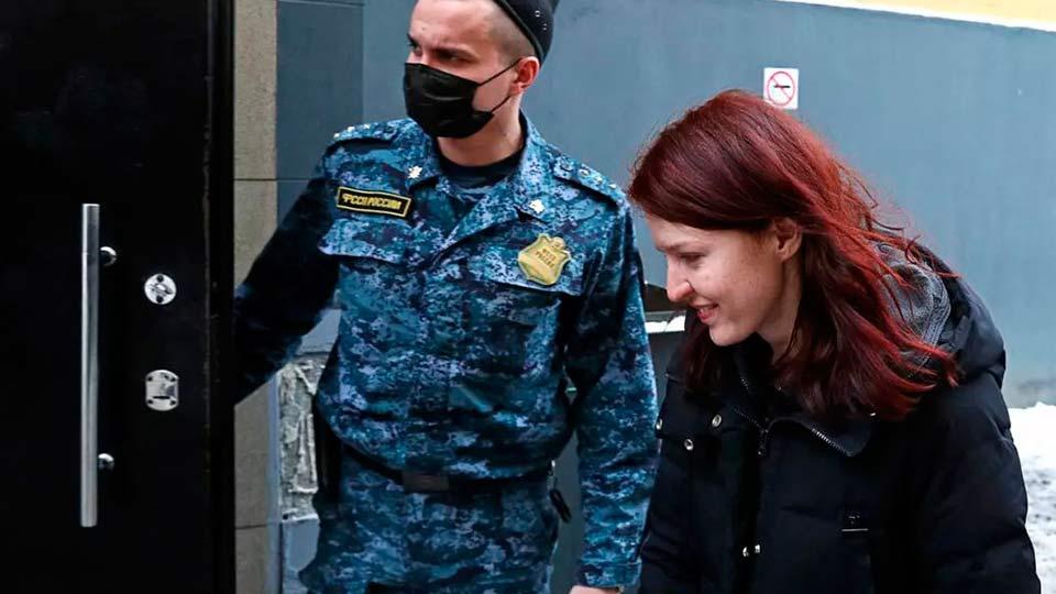 Кира Ярмыш, арест