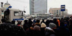 В Казани, также как в Москве, Санкт-Петербурге и др. городах России состоялся митинг в поддержку Навального