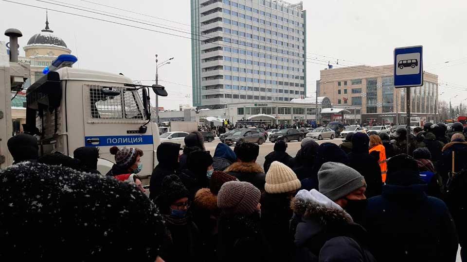 Протест в Казани