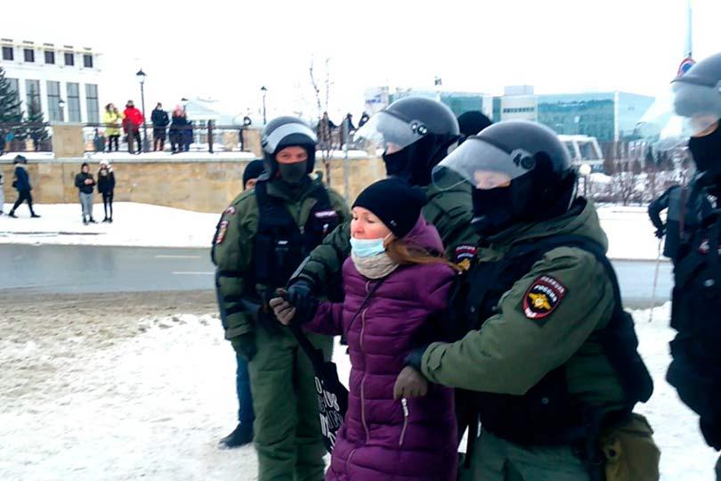 Актрису театра задержали в Казани