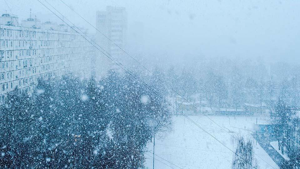 Холодный циклон в Москве