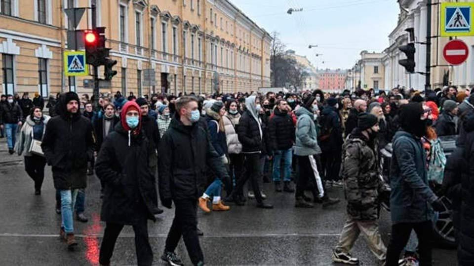 Мирный митинг