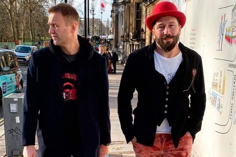 Евгений Чичваркин и Алексей Навальный