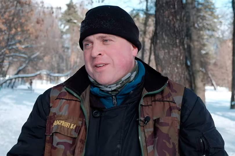 Экс-полицейский Николай Королев