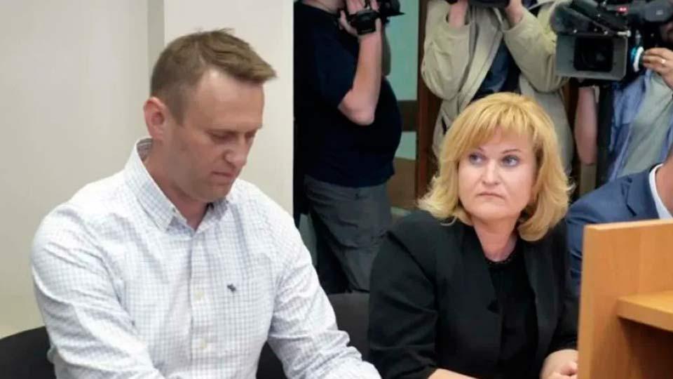 Навальный и адвокат