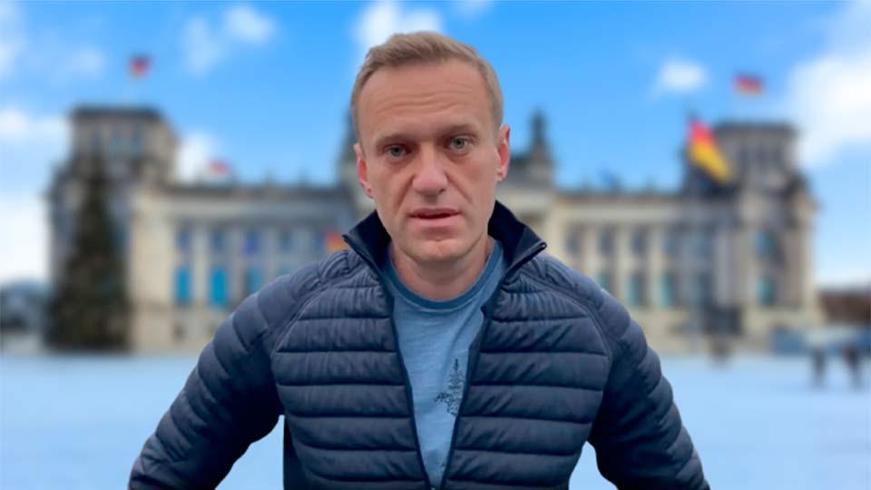 Навальный в ФРГ