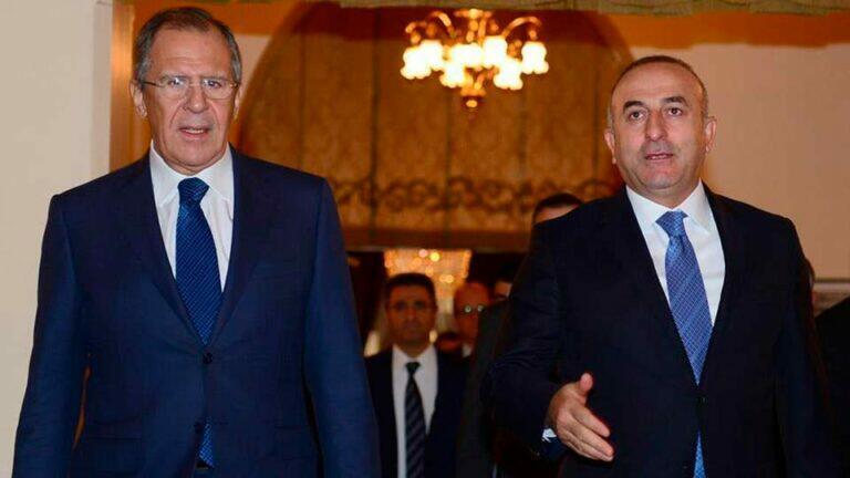 Лавров и Чавушоглу провели беседу по телефону продолжили разговор, начатый Путиным и Эрдоганом