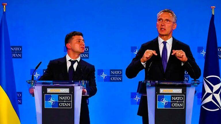 На Украине собираются вступить в НАТО и не считают конфликт на Донбассе помехой
