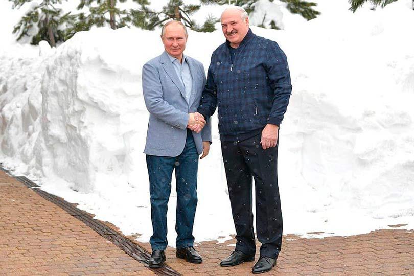 утин и Лукашенко
