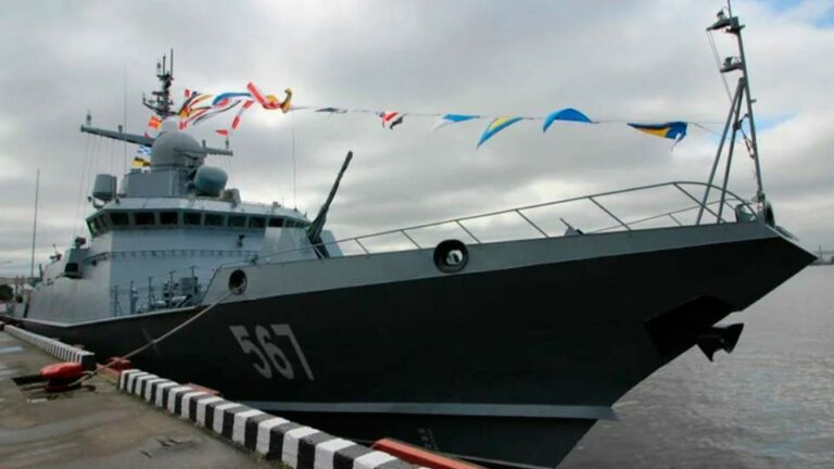 Российские корабли «Каракурт-Э» вызывают интерес у иностранцев