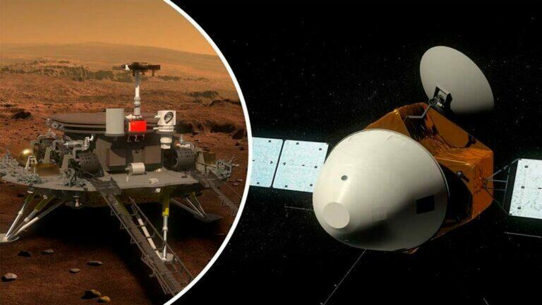 Китайский зонд достиг Марса, у России сегодня на это нет денег