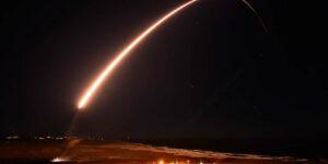 В США запустили межконтинентальную ракету Minuteman III без ядерной боеголовки