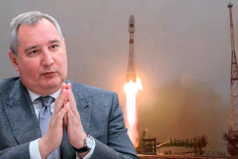Hогозин и запуск ракеты