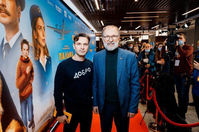 Виктор Добронравов с отцом