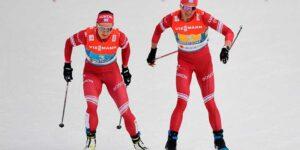 Российские лыжники стали вторыми на эстафете в Оберстдорфе