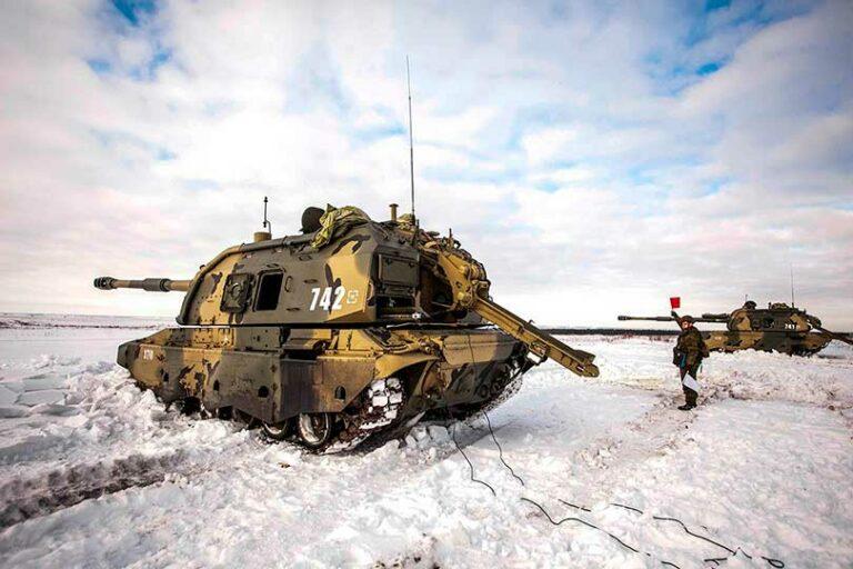 В России создают самые лучшие в мире гаубицы, кладущие снаряды точно в цель