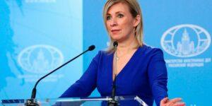 Захарова заявила, что не реагирует на оскорбления в соцсетях