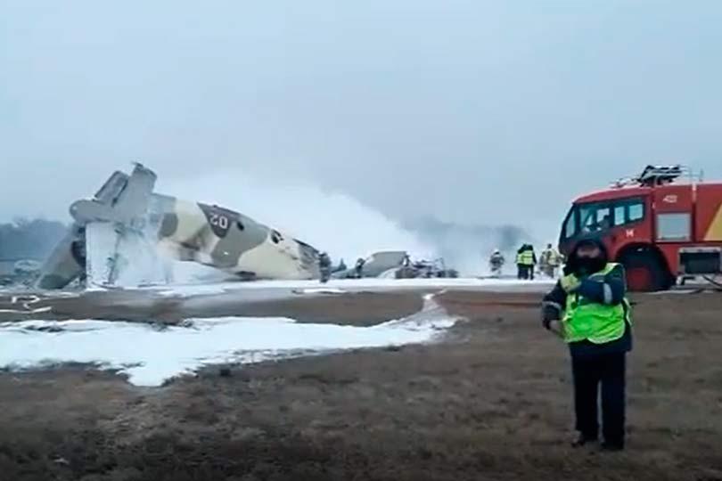 АН-26 разбился в Казахстане
