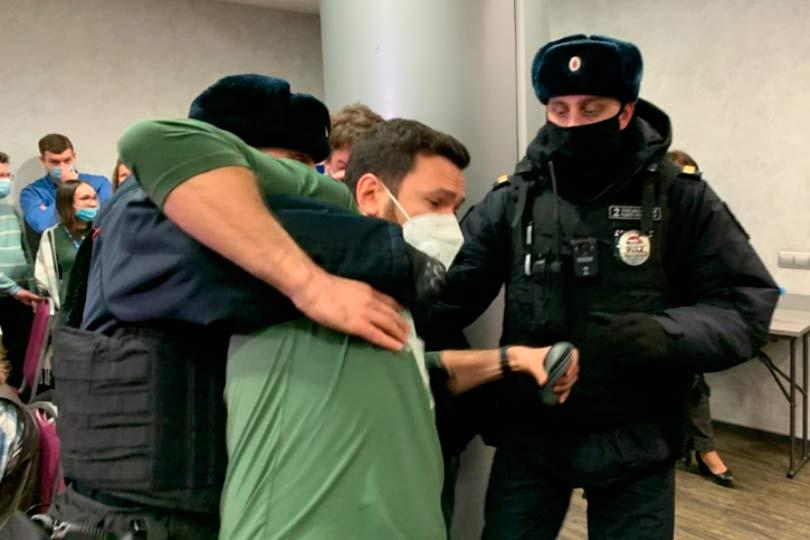 Задержание депутатов