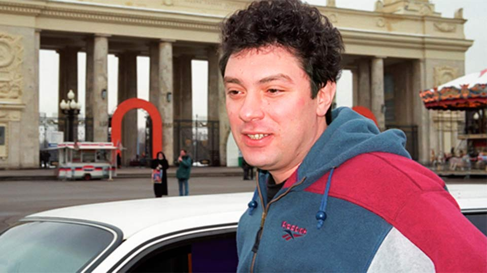 Немцов в молодости