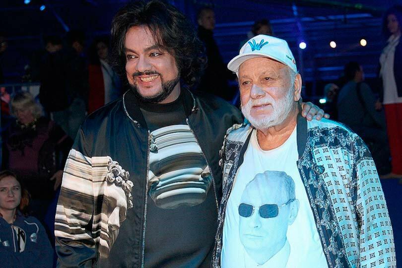Бедрос Киркоров и сын Филипп
