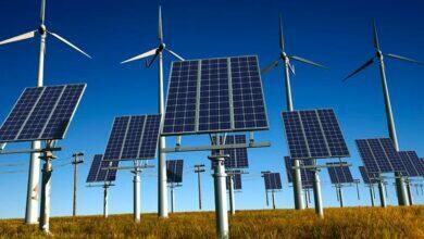 Энергия солнца и ветра