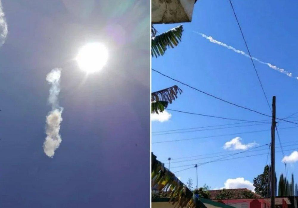 Метеорит на КУбе