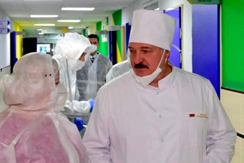 Александр Лукашенко в больнице