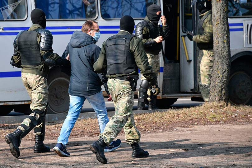 Задержания в Белоруссии
