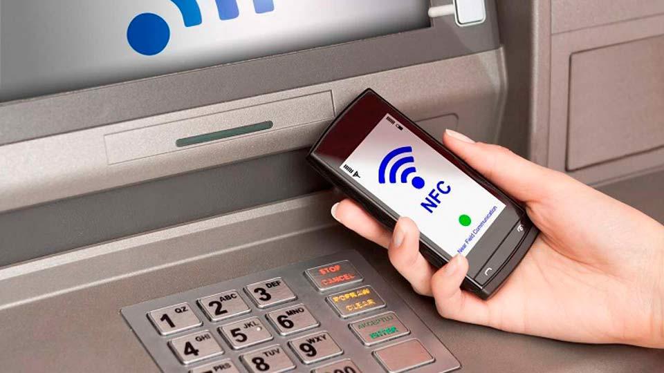 Банкомат и NFC