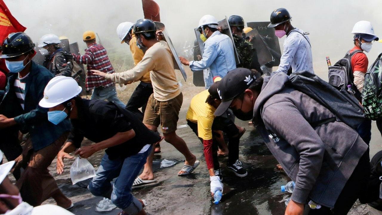 Военные Мьянмы