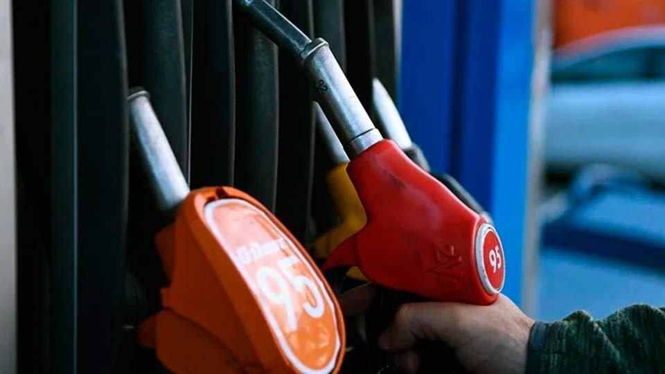 Заправка топлива на АЗС