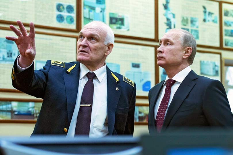 Литвиненко и Путин