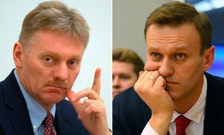 Песков и Навальный